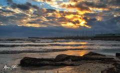 Cloudy dawn (Alfonso Beltran) Tags: clouds cloudy nubes amanecer beach playa dawn sunrise