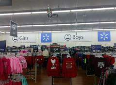 Girls and Boys, in the front right corner of the store (l_dawg2000) Tags: 2016remodel blackdecor20 remodel spark sparklogo iuka mississippi unitedstates usa