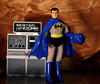 Bruce Wayne (Decepticreep) Tags: brucewayne mego batman batcave batcomputer removablecowl gotham