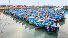 Blue boats (GC - Photography) Tags: essaouira marruecos morocco boat barca blue azul nikon mar sea d5100 gcphotography muelle dock
