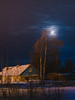 Moonhouse (runovv) Tags: ice snow russia sky clouds landscape moon dark darkness north mezen arkhangelsk house shine light night cold polar village nature outdoor skyscape