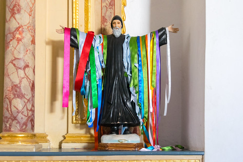 multicoloured saint