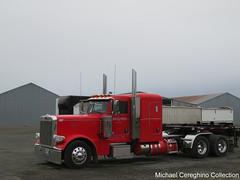 Linn West Peterbilt 389, Truck# 110 (Michael Cereghino (Avsfan118)) Tags: linn west peterbilt 389 linnwest pete sleeper tractor trucking seed transportation