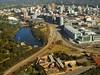 Adelaide aerial view (fairyduff) Tags: aerial city adelaide gaol railway lake river hospital parklands weir