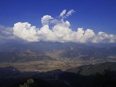 Pokhara city from Sarangkot (kawabek) Tags: sarangkot pokhara nepal