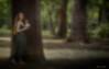 Nel bosco... (adrianaaprati) Tags: ritratto portrait bellezza beauté beauty tenderness douceur parco romantic femminilità femininity bosco wood bois wald tree season arbre feuille girl fille ragazza texture kerstinfrank flowers bouquet appeared