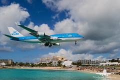 KLM B747-400_AS5J1865 (RJJPhotography) Tags: sxm princessjulianainternationalairport saintmaarten caribbean tncm