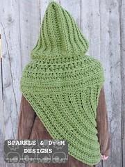 HuntressCowlHooded05d (zreekee) Tags: crochet sparkledoomdesigns saskatchewan mammadiy katniss hungergames