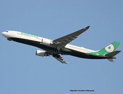 EVA Airways. New Livery. Airbus A330-302. (Jacques PANAS) Tags: eva airways airbus a330302 b16337 fwwkr msn1767