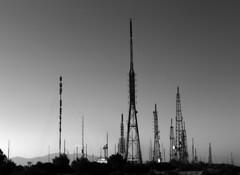 Planet Earth (Eleni Maitou) Tags: antenna antennas υμηττόσ mountain bnw sony sonyf828 digital tower outdoor