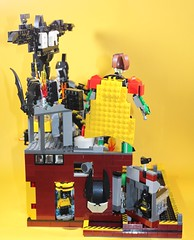 02_Bat_Cave (bbchai) Tags: lego batman batcave robin poster movie mobile segway