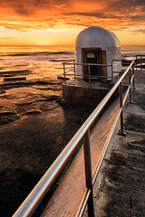 Pump House (Trevor Tutt) Tags: merewether merewetherbaths oceanbaths ocean sunrise sky clouds water newcastle newsouthwales morning summer photography trevortutt sony a7r2