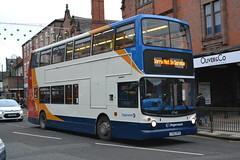 Stagecoach Merseyside & South Lancashire 17745 LY52ZFD (Will Swain) Tags: chester 10th december 2016 cheshire north west south county bus buses transport travel uk britain vehicle vehicles country england english stagecoach merseyside lancashire 17745 ly52zfd london greater capital