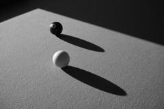 Billard 2 (Patrice StG) Tags: sony a7ii pool billard nb bw noiretblanc blackandwhite texture ombre shadow gimp