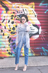 glamourous-dress (Yay Miu) Tags: asos hm lacedress glamourous momjeans boohoo transparent