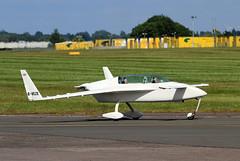 G-VEZE Rutan Varieze CVT 10-06-2015 (cvtperson) Tags: airport coventry rutan cvt varieze egbe gveze