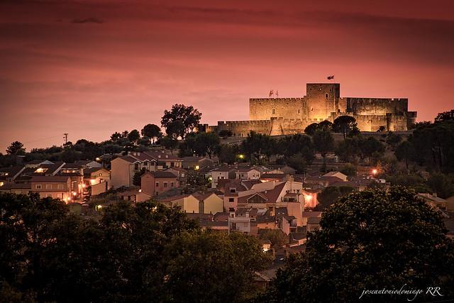 Anochecer en La Adrada (Ávila)