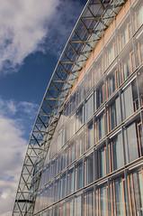 Glass (Matt H. Imaging) Tags: building architecture sony tamron luxemburg slt kirchberg a55 sonyalpha slta55v tamron18270pzd ©matthimaging