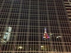 Reflection of Pride Empire State Building (Bhargav Kesavan) Tags: nyc newyorkcity newyork manhattan pride prideparade empirestatebuilding bryantpark samesex gracebuilding pridemonth pridemarch avenueofamericas