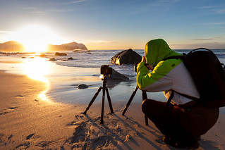 making of Vikten beach - norway