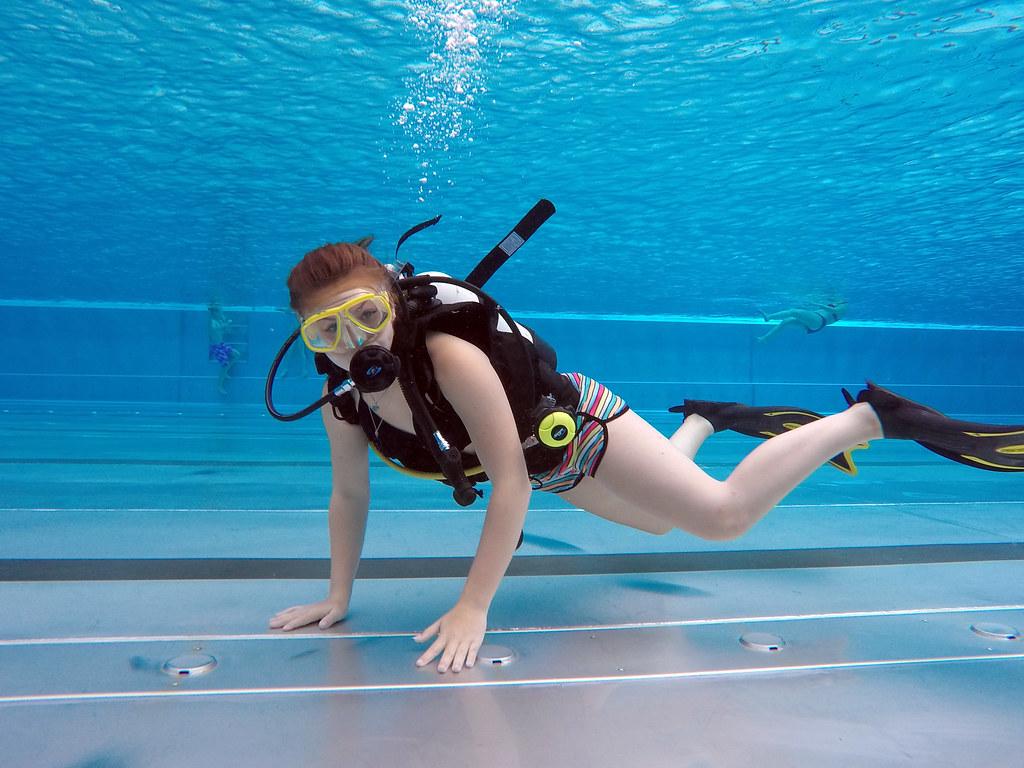 accidents Bikini scuba