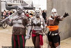 MCM CC MAY (cameraview4u121) Tags: uk costumes london art canon pose costume comic cosplay group may makeup entertainment convention scifi docklands characters cosplayer viking tamron comiccon con excel roleplay mcm 2015 16300 mcmexpo mcmlondon mcmcomiccon