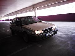 0175_krokus (GekusR) Tags: white car gold si wheels poland rover springs lip british gti sei cracow lowered wannabe spoiler slammed 216 newpaint 214 k16 sportseats jamex dailydriven 14k4f 16k4f 18k4f