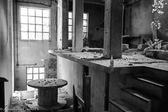 Cement factory-3 (Gentilvolpe) Tags: bw abandoned industry lost industrial factory decay cement forgotten bianco nero bianconero biancoenero urbex solitudine industriale archeologia abbandono abbandonato solitudini archeologiaidustriale
