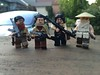 North Vietnamese Soldiers (Yappen All Day Long) Tags: us vietnamese lego south north ak tiny conflict soldiers medic m16 ak47 tactical purist ppsh brickarms eclipsegrafx