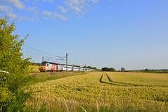 East Coast Hst (Teignstu) Tags: field train blueskies eastcoast hst eatoncrossing