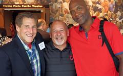 Gregg Levine, Bob DiBiasio & Larry Doby Jr.