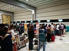 Long queues (A. Wee) Tags: jakarta 雅加达 indonesia 印尼 cgk soekarnohatta airport 机场 terminal2 queue