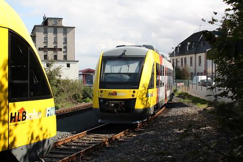 HLB: Neu vom Hersteller angelieferter VT 270.1 in Butzbach-Ost