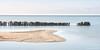 Flood defence (© Jenco van Zalk) Tags: lake ijsselmeer frielsland holland netherlands breakwater sunlight landscape nature water tracks pools sandbank flood defence
