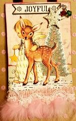 Christmas ATC (janski48) Tags: swapbot atc christmas reindeer angel