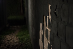 Stuck (Mike_Rocha) Tags: dark paint scary haunting eerie ominous alley wall
