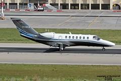 D-CSCA LMML 19-01-2017 (Burmarrad) Tags: airline private aircraft cessna 525b citationjet 3 registration dcsca cn 525b0378 lmml 19012017