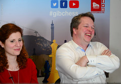 Nigel Short interviewed by Jovanka Houska (Johnchess) Tags: 29january2017 round6 tradewisegibraltarmasters