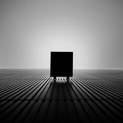 Godwin's box (Panda1339) Tags: 28mm leicaq minimalism summiluxq monochrome box abstract architecture london morelondonriverside blackandwhite uk lookup