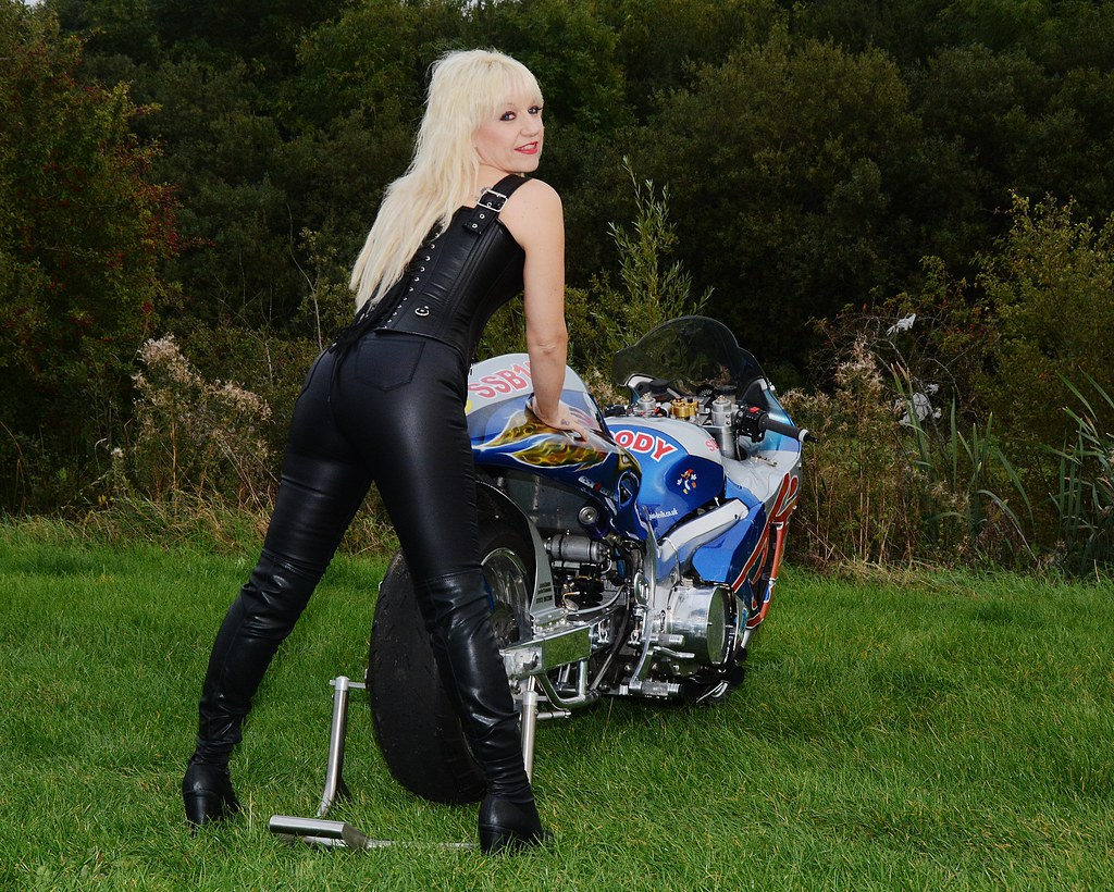 Kendra mature motorcycle babe