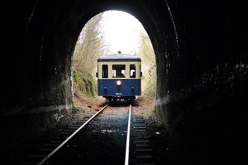CFV3V Brossel 551.34 voor de tunnel van Nismes