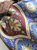 Павлово-посадский платок Имбирь-17 (LucciolaS) Tags: павлопосадский платок имбирь accessories pavlovposad shawl wool russian brown blue
