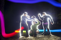 Playing with lights at night 1 (Jordi VECINOS FILMS) Tags: night nightphotography photogrphy photo longexposure long exposure canon 5d carlzeiss zeiss holidays travel trip summer camping red blue yellow orange pink led petzl linterna luz color colores amigos friends boy girl man woman posing quiet dontmove movement dop art arte eclecticwork colaboration nice prety gorgeous flare flares shine difusion white black grass nature vacation vacations