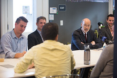 "On ""Jobs that Pay"" Tour, Governor Wolf Visits WebpageFX In Harrisburg (governortomwolf) Tags: 14556"