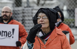 Paulette Schroeder Tells the Story of a Guantánamo Detainee Outside the White House