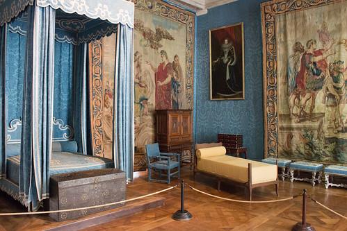 Chambre de la reine, Château de Chambord
