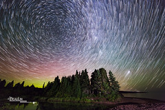 Starry Whirlpool (Images by Beaulin) Tags: landscape milkyway astrophotography stars cookcounty starrynight starphotography nightsky paradisebeach auroraborealis persidmeteorshower starscape northernlights nightscape starrysky covill minnesota