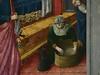 GIOVANNI FRANCESCO DA RIMINI (Attribué),1440-50 - Vie de la Vierge, La Naissance de la Vierge (Louvre) - Detail 67 (L'art au présent) Tags: art painter peintre details détail détails detalles painting paintings peinture peintures 15th 15e peinture15e 15thcenturypaintings 15thcentury detailsofpainting detailsofpaintings moyenâge middleage louvre museum paris france italie italy italia francesco giovannidarimini giovanni francescodarimini lanaissancedelavierge viedelavierge naissance birth birthday adoration worship bible saint bless sacred holy blessed figure personne people femme femmes woman man men virgin vierge enfant child enfance kid baby bébé childhood parents family famille toilette bath nourrice nurse nursemaid nanny offrande offering gift chambre bedroom