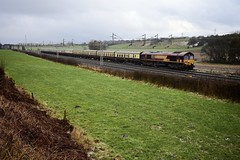 The Mersey Weaver ll (wwatfam) Tags: 66182 dbs diesel electric freight locomotive express passenger train pathfinder tour mersey weaver trains railways railroad stableford staffordshire england britain