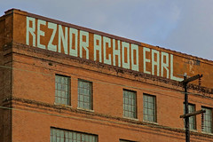 Reznor Achoo Earl, New Orleans, LA (Robby Virus) Tags: neworleans louisiana la nola bigeasy reznor achoo earl brick wall building tag tags taggers graffiti